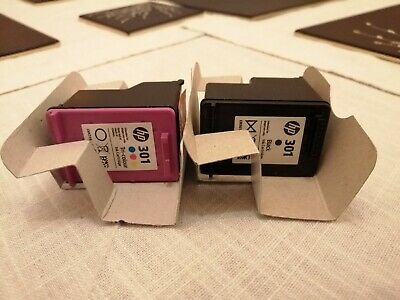 Hp301 Black And Tricolour **empty Ink Cartridges • 3£
