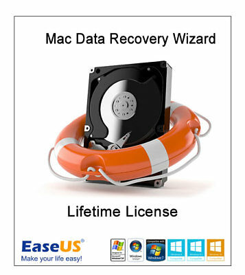 EaseUS Mac Data Recovery 12.5 Lifetime + Free Updates • 19£