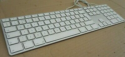 Apple Wired English Qwerty Keyboard With Number Pad  A1243  • 39.99£