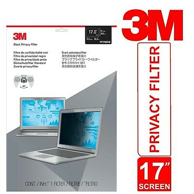 3M Privacy Filter For 17  Widescreen Laptop Thin And Touch Sensitive • 50.60£
