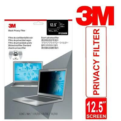 3M Privacy Filter For 12.5  Laptop Widescreen Thin & Touch Sensitive Matte • 35.42£