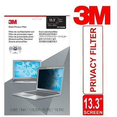 3M Trade 13.3  Widescreen (16:9) Laptop Privacy Filter Thin And Touch-Sensitive • 36.11£
