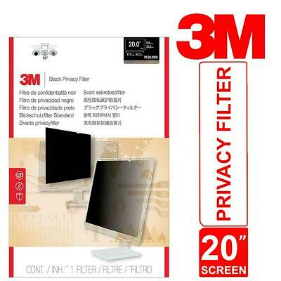 3M Privacy Filter For 20  Monitor Widescreen Desktop PF20.0W9 Touch Sensitive • 72.80£