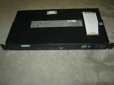 APC Automatic Transfer Switch (ATS) AP7721 - 10A/230V - C14 IN (12) C13 Out • 150£