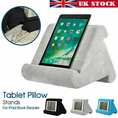 UK Multi-Soft Pillow Lap Stand For IPad Tablet Cushion Phone Laptop Holder Gift • 9.99£