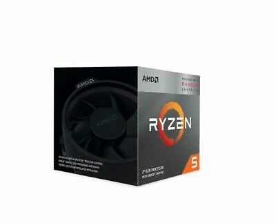 AMD Ryzen 5 3400G 3.7GHz Quad Core Processor Brand New Without Cooler • 125£