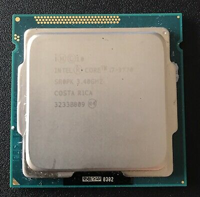 Intel Core I7-3770 3770  3.4GHz Quad-Core Processor • 70£