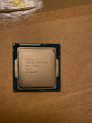 Intel Core I5-4590 Processor 3.30GHz For Gaming Pc • 0.99£