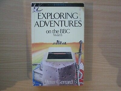 BBC Micro Exploring Adventures Book In VGC • 7.95£
