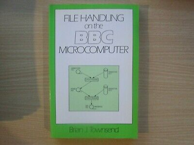 BBC Micro File Handling Book In VGC • 7.95£