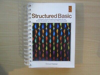 BBC Micro Structured Basic Book In VGC • 7.95£