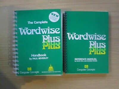 BBC Micro Wordwise + Reference Manual Books In VGC • 7.95£