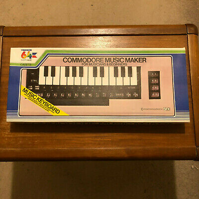 Commodore 64 - Music Maker Keyboard - Complete & Very Good Condition. • 34.99£