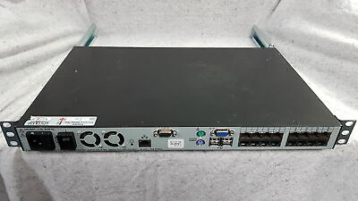 Dell PowerEdge 2161 DS-2 KVM Over IP Switch With Rackmount Rails ONLY Grade B • 99.99£