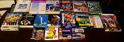Bundle Of 17 Commodore Amiga Games/boxes - Tested • 14.99£