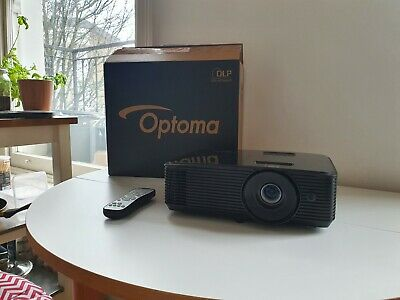 OPTOMA HD143X Full HD 1080p 3D Home Cinema Projector - Great Condition • 379£