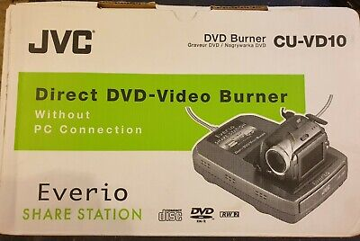Direct Camcorder To Dvd No Computer Needed JVC CU-VD10 Share Centre • 64.99£