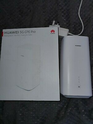 Huawei 5G (+4G) CPE Pro GigacubeH112-370 WiFi Router Mobile LTE Broadband • 260£