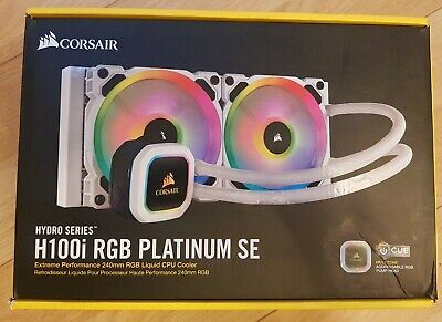 Corsair H100i RGB PLATINUM SE 240mm Hydro Series AIO • 129.99£
