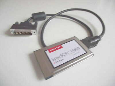 Adaptec SlimSCSI PCMCIA Card 1460B With 25 Pin D External SCSI Connector • 79.99£