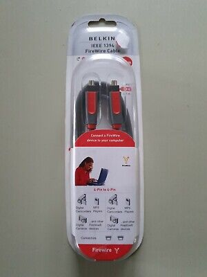 Belkin (CF1000AED06) 1.8 M FireWire Cable • 1.30£