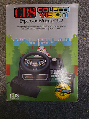 Colecovision Expansion Module 2 Teo Coleco Steering Wheel Excellent Condition  • 30£