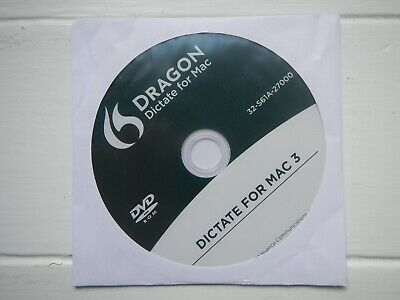 Dragon Dictate For Mac 3 Dictation Software  • 1.99£