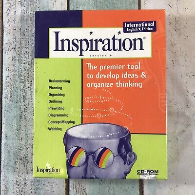 Inspiration Version 6, PC CD Rom Design Software - Professionals & Students • 6.99£