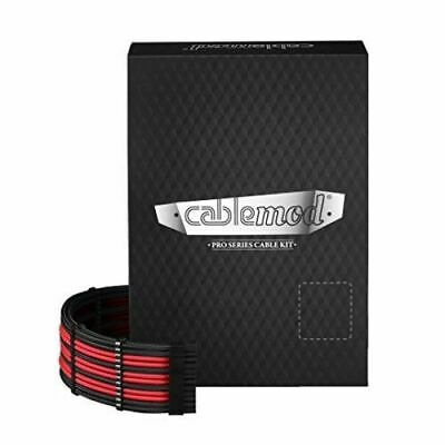 CableMod PRO ModMesh RT-Series ASUS ROG / Seasonic Cable Kits - Black/Red • 116.98£