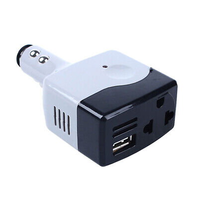 Car DC 12-24V To AC 220V Voltage Power Inverter Converter USB Charger   • 6.19£