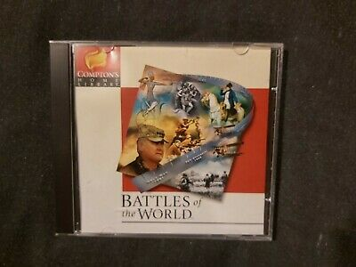 Compton's Home Library - Battles Of The World  • 3.90£