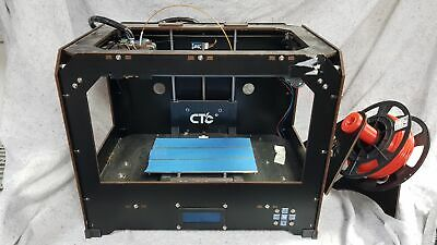 CTC 3D Printer - 2 Dual Extruder Printer With Filament (ULTRA LOW 28 HOURS USAGE • 139.99£