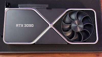 NVIDIA GeForce RTX 3090 24GB GDDR6X Founders Edition Graphics Card • 2,149£