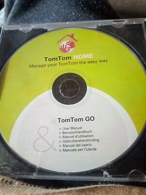 TomTom Home GO CD-ROM • 2.99£