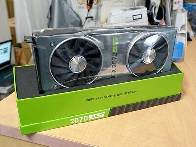 NVIDIA GeForce RTX 2070 SUPER Founders Edition 8GB • 650£