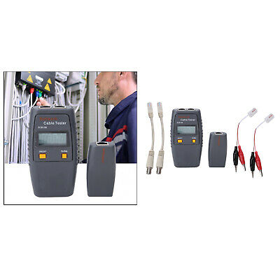 Wire Tracker Network Cable Tester Cable Collation For RJ45 RJ11 LAN BNC FTP • 25.60£
