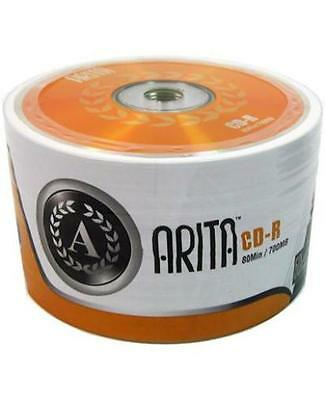 600 ARITA  52X 700MB Branded CD-R In Spindles Of 50 Great Disk Back In Stock • 71.75£