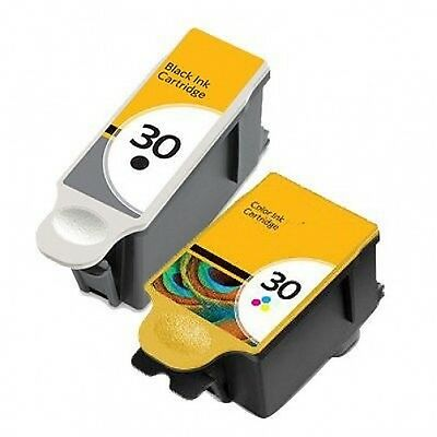 2 INK CARTRIDGES FOR KODAK 30 XL ESP C315 C310 C110 C115 1.2 3.2 Hero 3.1 5.1  • 8.99£