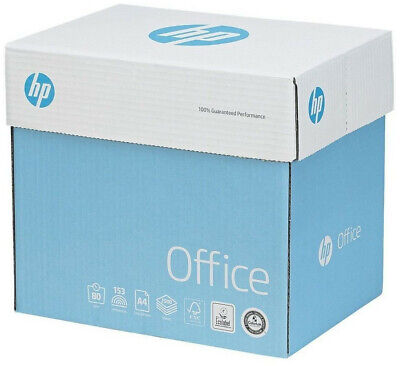 HP Office Quickpack Paper – A4 White 80gsm – 2500 Sheets • 16.79£