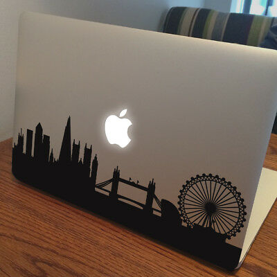 LONDON SKYLINE Apple MacBook Decal Sticker Fits 11  12  13  15  And 17  Models • 4.99£