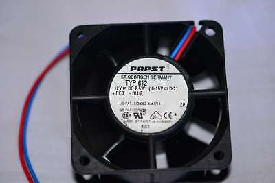 PAPST   60mmX60mm 6 To 12volt FANs Type 612 • 10.99£