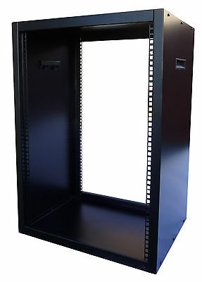 20U RACK CABINET 19 Inch 535mm DEEP FLAT PACK DESIGN • 153£