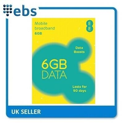 EE PAYG 4G Data Sim Preloaded With 6GB Data  • 16.29£