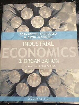 Industrial Economics And Organisation: A European Perspective By Bernadette... • 40£