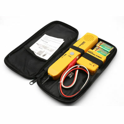 Wire Cable Tracer Tone Generator Finder Probe Tracker Network Tester Kit Phone • 18.76£