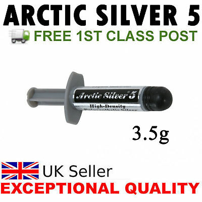 Arctic Artic Silver 5 Thermal Compound Paste FOR Grease CPU Heatsink XBOX PS4 • 6.39£