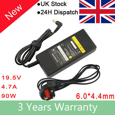 For Sony Vaio PCG-71911M , VGP-AC19V48 Charger Laptop Adapter + Power Cable NEW • 8.99£