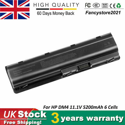 Battery For HP Pavillion G6-2212sa Laptop HP 593553-001 10.8V 5200mAh 6 Cells UK • 14.99£