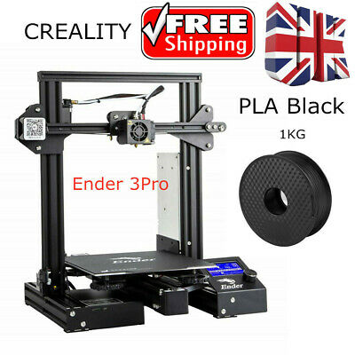 Creality Ender 3 Pro 3D Printer 220X220X250mm MeanWell Power 24V UK Stock • 239£