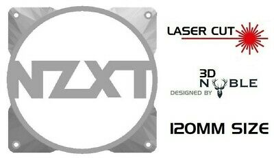 WHITE - NZXT - 120mm Fan Case Guard Grill PC Modding • 7.99£